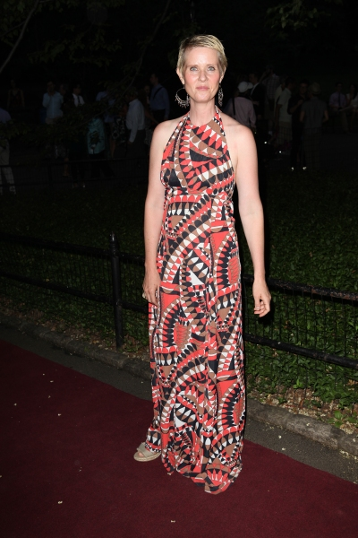 Cynthia Nixon at INTO THE WOODS Red Carpet Arrivals!