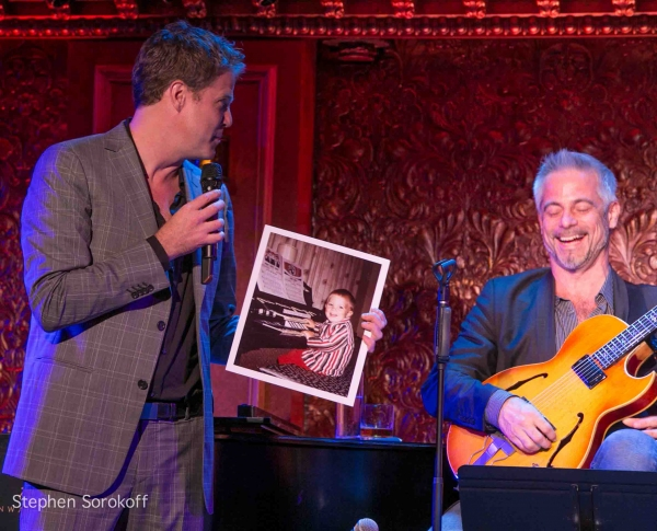 Steve Doyle & Sean Harkness at Inside Steve Doyle's Album Release Party at 54 Below!