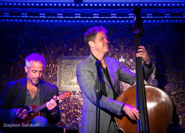 Sean Harkness & Steve Doyle at Inside Steve Doyle's Album Release Party at 54 Below!