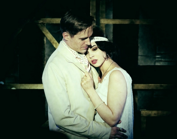 Sean Browne (Gatsby) and Matilda Sturridge (Daisy)