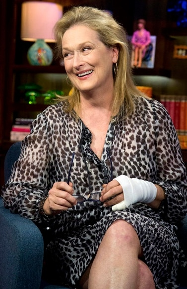 Meryl Streep at Meryl Streep Appears on WATCH WHAT HAPPENS LIVE!