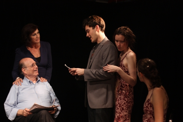 Stewart Steinberg, Mary Goggin, Montgomery Sutton, Crawford M. Collins, Leah Gabriel at First Look at Going to Tahiti Productions' IN THE EBB at FringeNYC