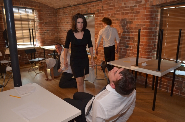 Photo Flash: Stage Adaptation of EXAM in Rehearsals at Gen-X