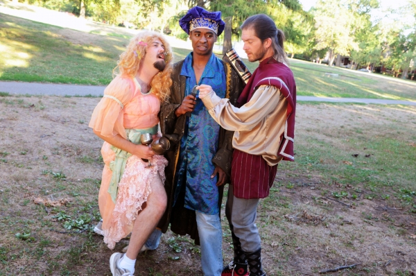 Photo Flash: Sneak Peek at Actors' Theatre's THE COMPLETE WORKS OF WILLIAM SHAKESPEARE (Abridged)