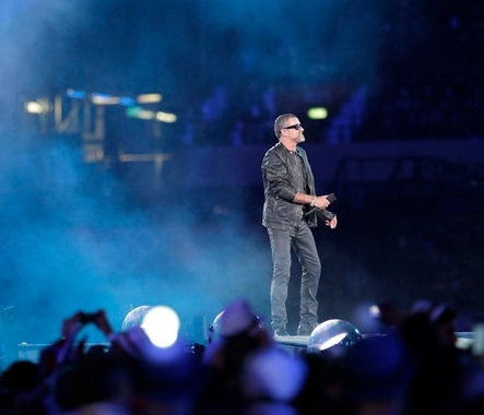 George Michael at Spice Girls & More at OLYMPIC CLOSING CEREMONIES