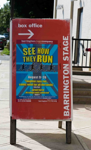 Barrington Stage Company at Inside Opening Night of Barrington Stage's SEE HOW THEY RUN