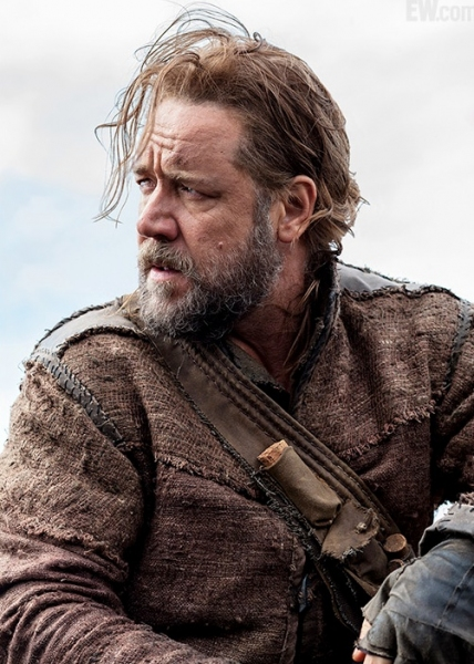 Russell Crowe at First Look - Russell Crowe in Aronofsky's NOAH