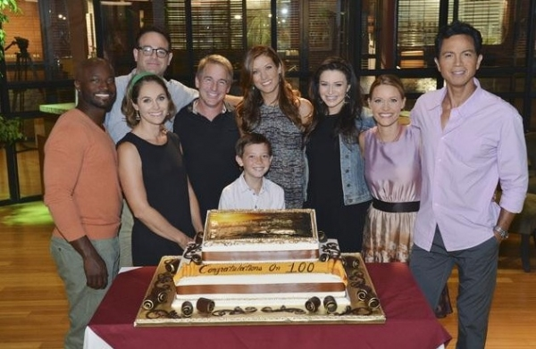 Taye Diggs, Amy Brenneman, Paul Adelstein, Brian Benben, Griffin Gluck, Kate Walsh, Caterina Scorsone, KaDee Strickland, Benjamin Bratt at ABC's PRIVATE PRACTICE Celebrates 100th Episode