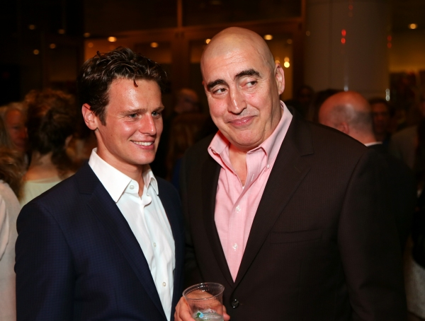 Jonathan Groff and Alfred Molina at Jonathan Groff and Alfred Molina-Led RED Opens in LA- Betty White, Zachary Quinto and More!