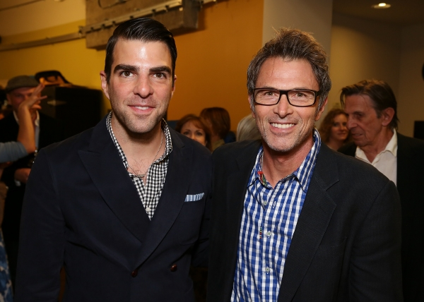 Zachary Quinto and Tim Daly