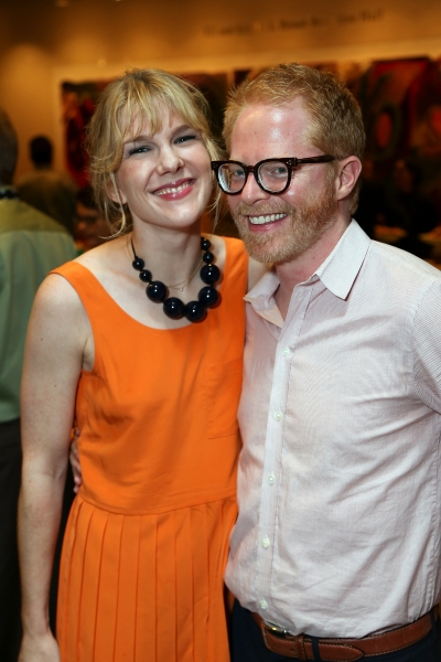 Lily Rabe and Jesse Tyler Ferguson at Jonathan Groff and Alfred Molina-Led RED Opens in LA- Betty White, Zachary Quinto and More!
