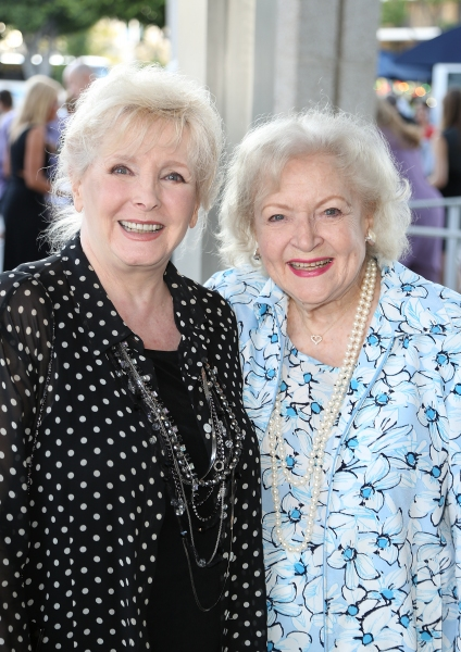 Millicent Martin and Betty White