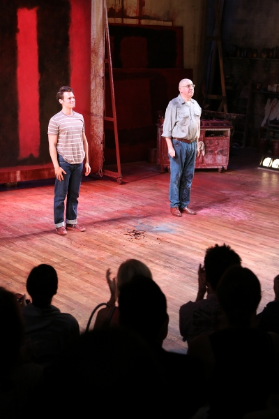 Photo Flash: Jonathan Groff and Alfred Molina-Led RED Opens in LA- Betty White, Zachary Quinto and More!