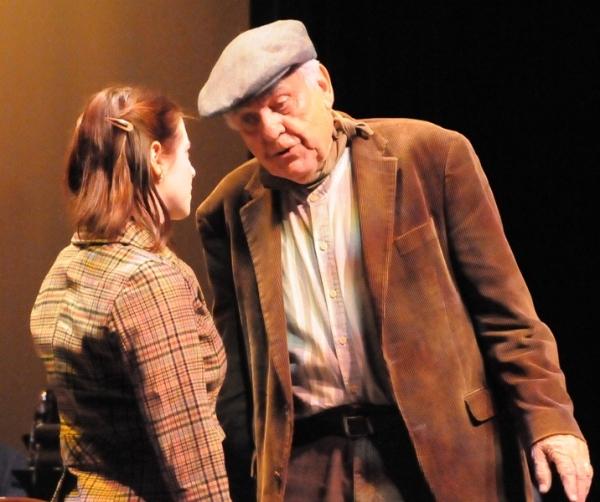 Finian's Rainbow 2011:  Beth Lazarou (as Sharon) and Charles Krohn (as Finian) Photo
