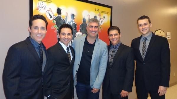 Photo Flash: Taylor Hicks Visits JERSEY BOYS Las Vegas!
