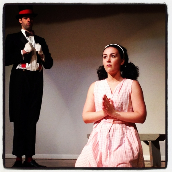 Photo Flash: First Look at Trembling Stage's AMERICAN MIDGET at FringeNYC