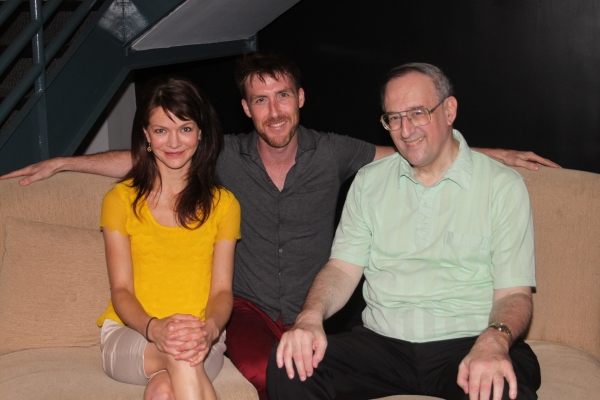 Susan Louise O'Connor, Director Adam Fitzgerald and Victor L. Cahn  Photo