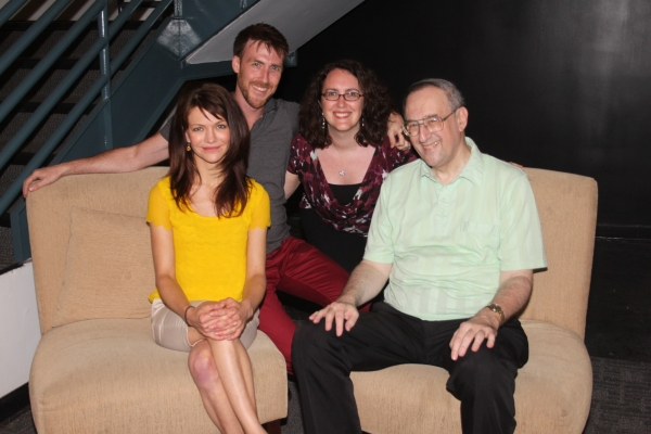 Susan Louise O'Connor, Adam Fitzgerald, Producer Rachel Reiner and Victor L. Cahn   Photo