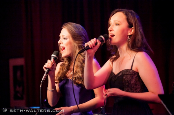 Laura Osnes and Melissa van der Schyff