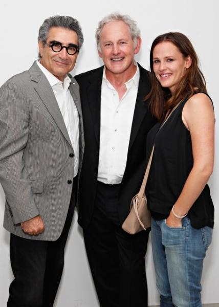 Eugene Levy, Victor Garber and Jennifer Garner
