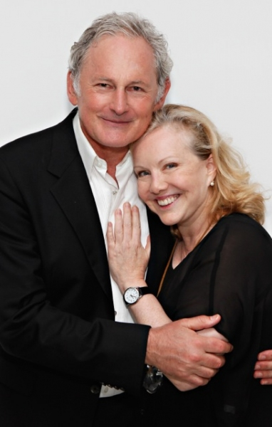 Victor Garber and Susan Stroman