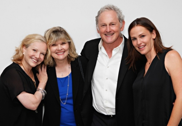 Susan Stroman, Debra Monk, Victor Garber and Jennifer Garner at Jennifer Garner and More Attend Victor Garber's Opening at 54 Below!