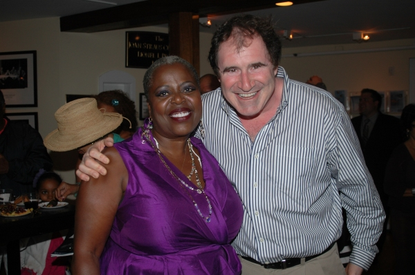 Lillias White and Richard Kind at Lillias White, Richard Kind and More at Bay Street's BIG MAYBELLE Opening Night!
