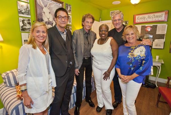 Tracy Mitchell, Paul Levine, Barry Manilow, Lillias White, Murphy Davis and Lorna Luft