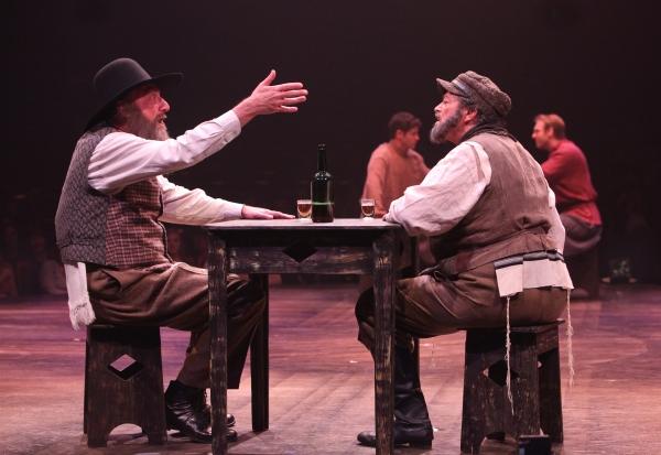 Ron Wisniski and Bob Amaral as Lazar Wolf and Tevye Photo
