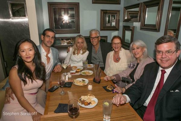 Susan Piazza, John Piazza, Eda Sorokoff, Steve Bakunas, Linda Lavin, Jamie deRoy, Remmel Dickinson