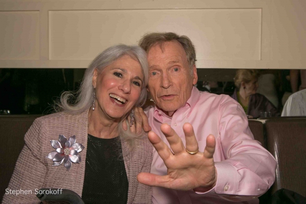 Jamie deRoy & Dick Cavett at Inside Opening Night of Primary Stages' HARRISON, TX