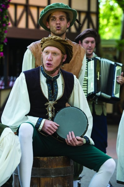 THE GREENSHOW at Utah Shakespeare Festival Runs Mondays thru Sept 1