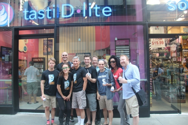 Randy Harrison, Howard Kaye, Jenn Harris, David Garrison, David Ayers, Doug Trapp, Topher Nuccio, Ronica V. Reddick and Hunter Bell