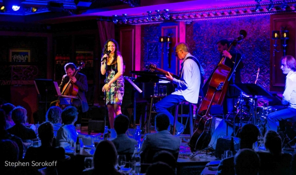 Rubin Kodheli, Misha Piatigorsky, Hilary Kole, John Hart, Paul Gill, Chris Wabach at Hilary Kole Plays 54 Below!