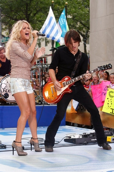 Carrie Underwood at Carrie Underwood Performs on TODAY