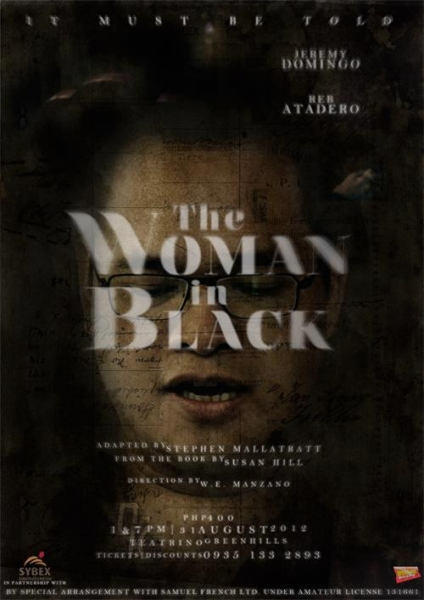 Photo Flash: Dulaang Kalay's THE WOMAN IN BLACK Official Posters