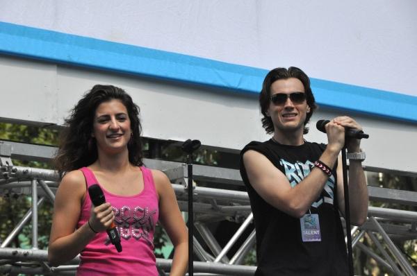 Neka Zang and Justin Sargent Photo