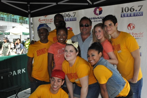 Photo Coverage: NICE WORK, BRING IT ON, and More Perform at Broadway in Bryant Park!