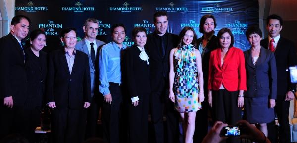 Photos: THE PHANTOM OF THE OPERA Manila Cast Meet the Press