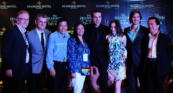 Photo Flash: THE PHANTOM OF THE OPERA Manila Cast Meet the Press