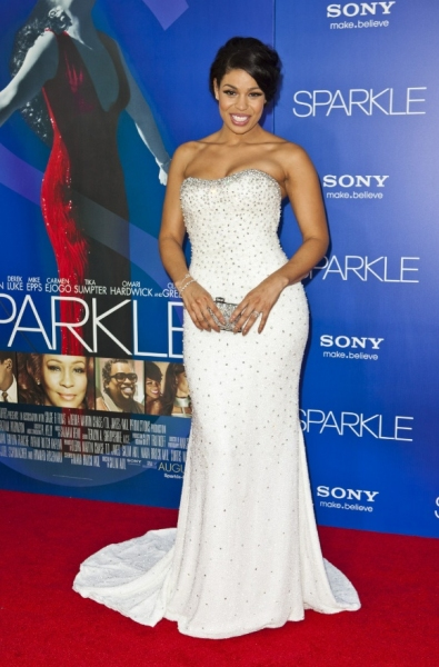 Jordin Sparks at Sparks Shines at LA Premiere of SPARKLE