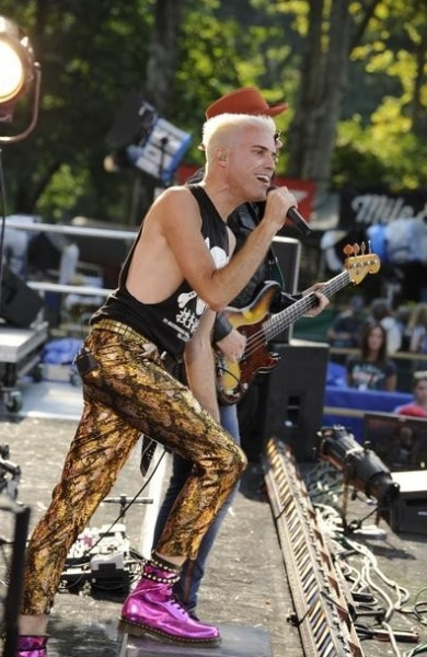 Neon Trees at Neon Trees Performs on This Morning's GMA