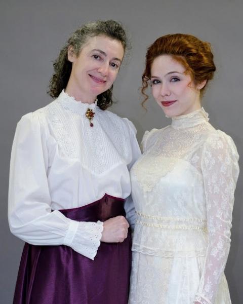 Paula O'Brien and Katie Weigl