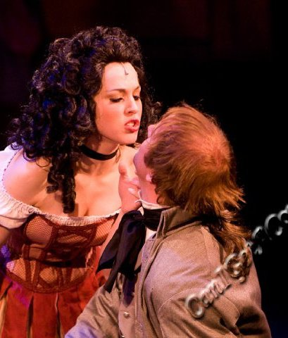 Lauren Noll in The Scarlet Pimpernel at the Hale Center Theater Orem