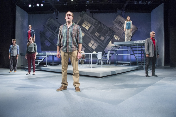 Adam Fontana, Noah Plomgren, Alison McCartan, Chris Hoch, Andréa Burns, and Nehal Joshi at Andréa Burns, Chris Hoch and More in Hangar Theatre's NEXT TO NORMAL