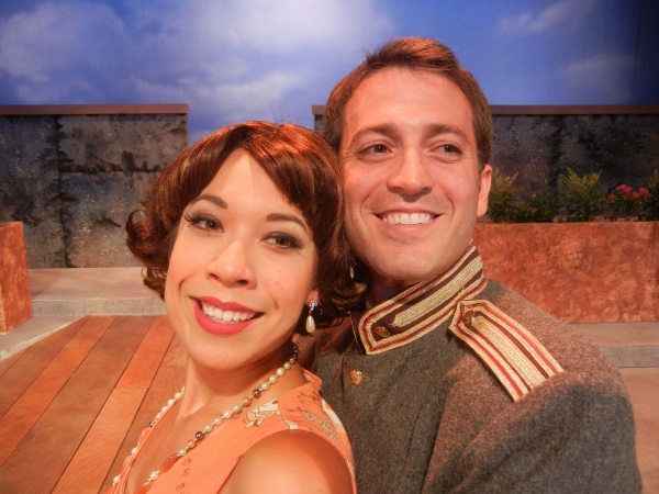 Photo Flash: First Look at Michael Nehring, Evelyn Carol Case and More in Shakespeare Orange County's MUCH ADO ABOUT NOTHING