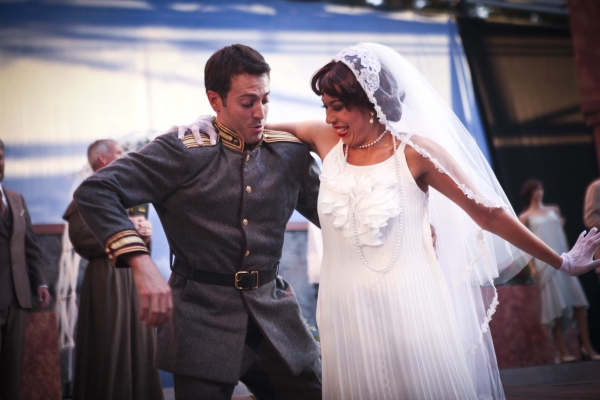 Shaun Anthony and Malia Wright