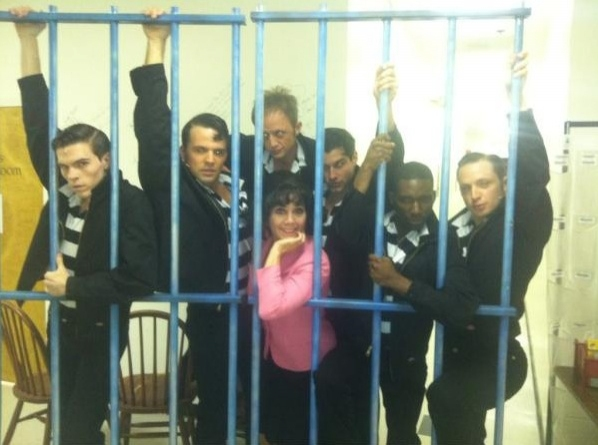 "ALL SHOOK UP's Joyce DeWitt and Company (North Shore Music Theatre) ""@ryanoverberg Joyce DeWitt and the Jailbirds. ""Jailhouse Tango"" ‪@KeenanBlogger‬ ‪@bonesmoe‬ ‪#SIP‬ ‪#NSMT‬ ‪pic.twitter.com/P"
