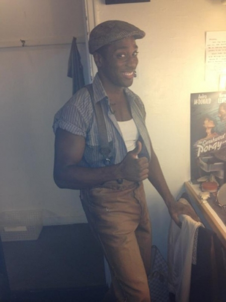 "PORGY AND BESS' Wilkie Ferguson ""@nikkireneesings @wilkieferguson on as Robbins tonight @PorgyBessOnBway! #SIP http://pic.twitter.com/VztNohRH"