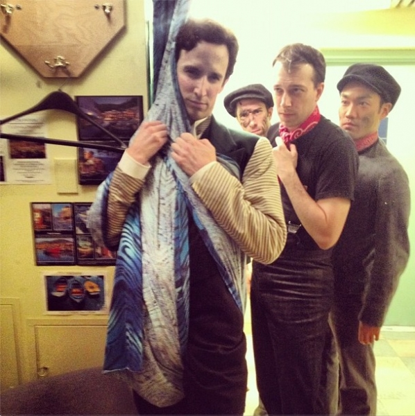 "MARY POPPINS' Josh Assor ""and Company @joshassor Poppins next top model #SIP http://instagr.am/p/Ofb2pYQkj6/"
